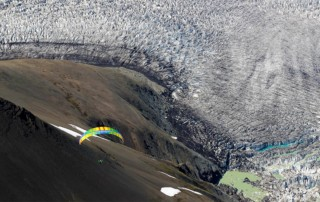 Paragliding in Iceland-Bruce-Goldsmith Glacier Highlands